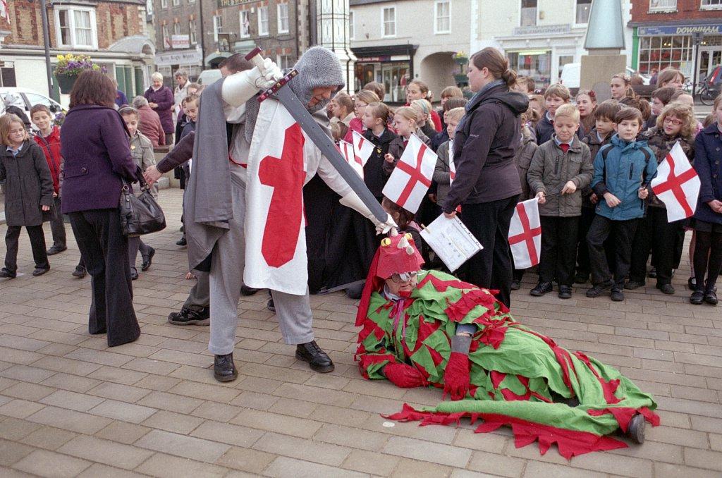 St George's Day, Downham Market.