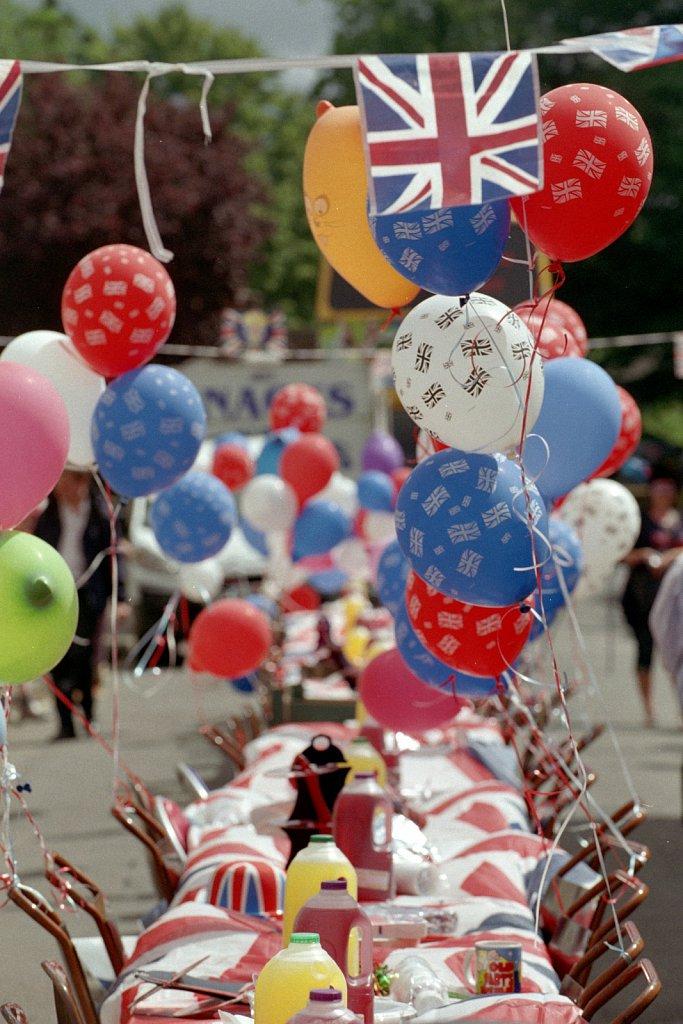 Queens Jubilee Street Party 2013