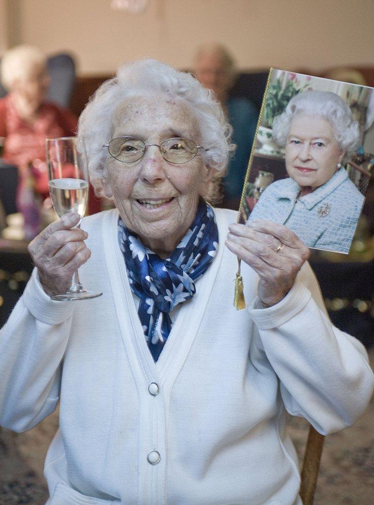 Alice Minter's 100th Birthday