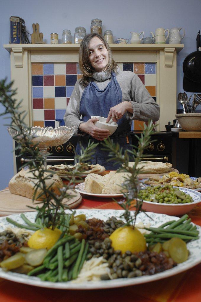 Alison Sloan, food historian.
