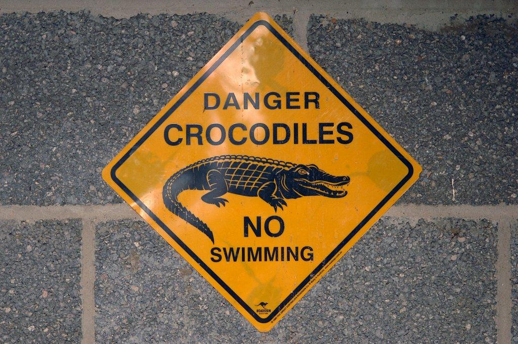 Andy Johnson, Crocodile Farmer.