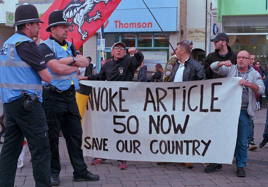 Article 50 Protest, Boston.