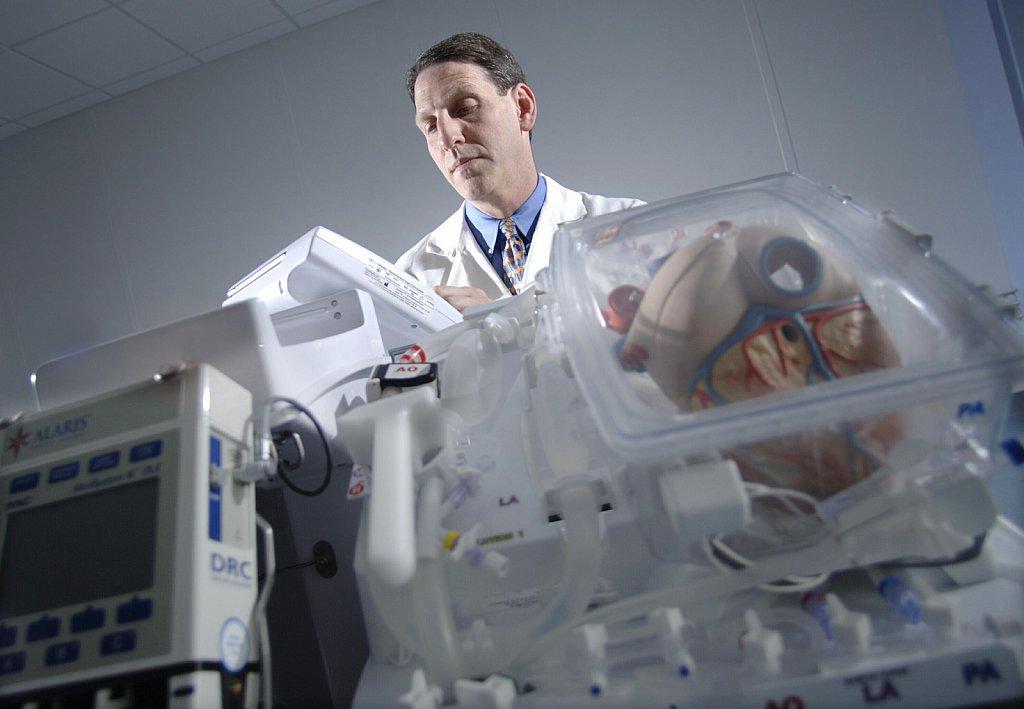 Prof Bruce Rosengard of Transmedics
