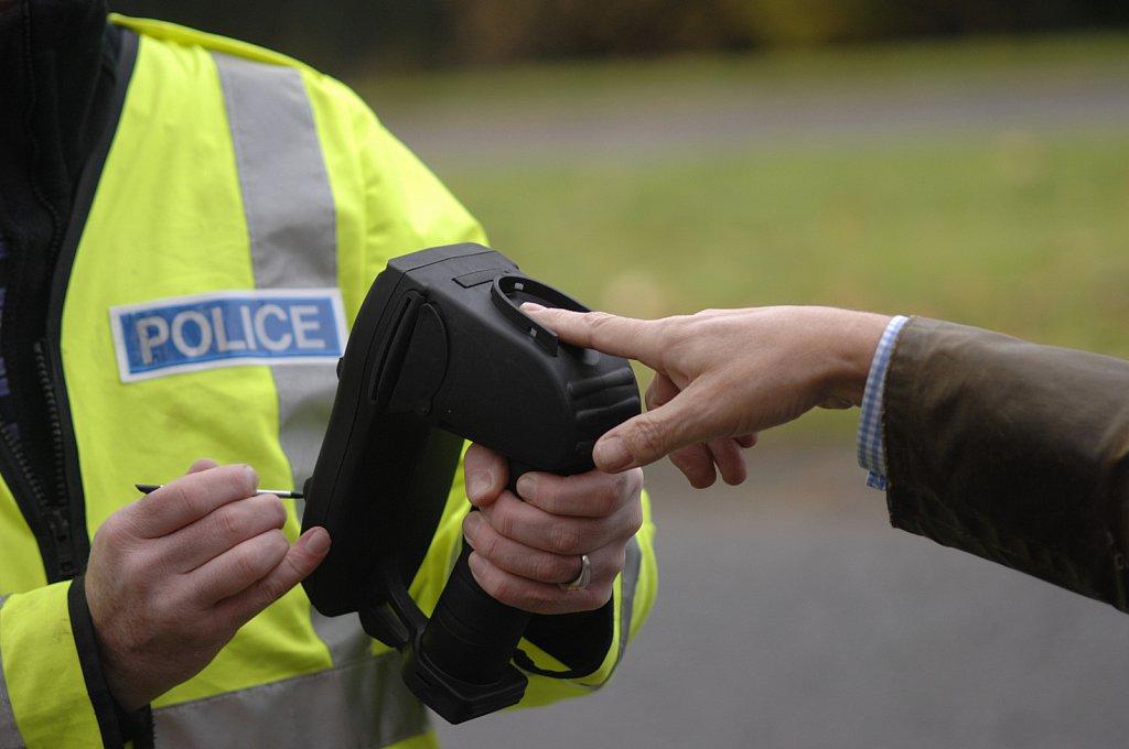 Police Lantern Mobile Fingerprinting