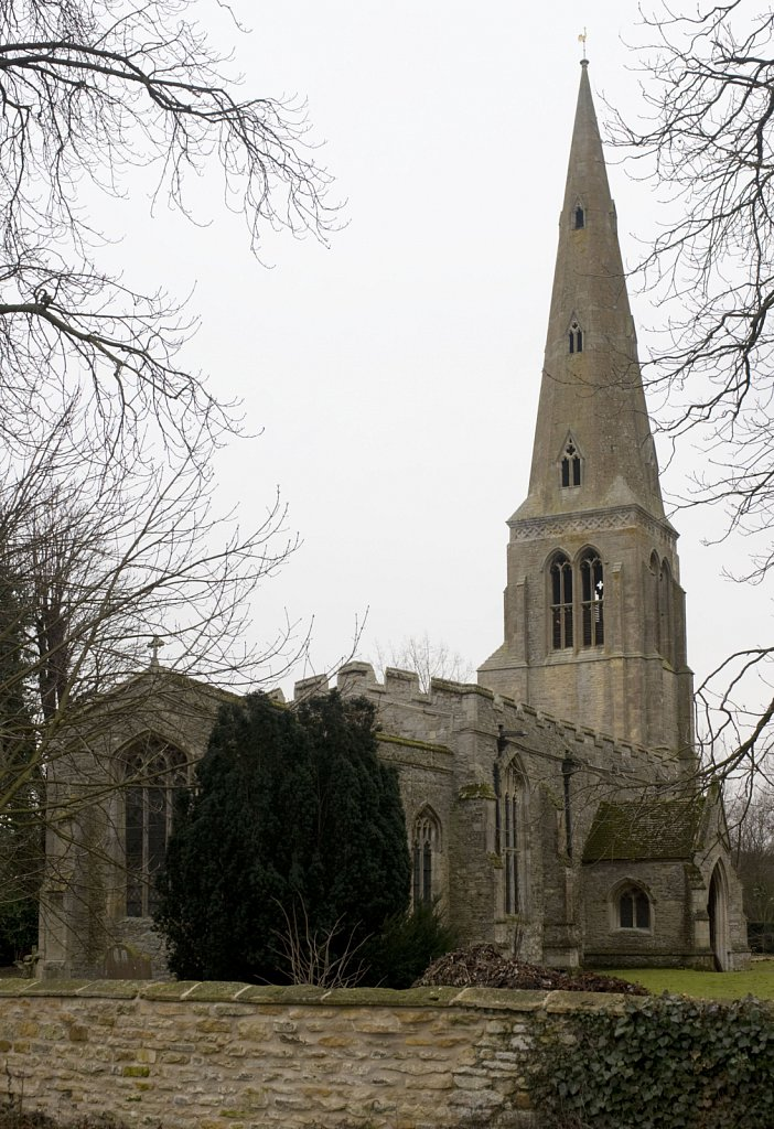 St Peter Church, Easton, Cambs,