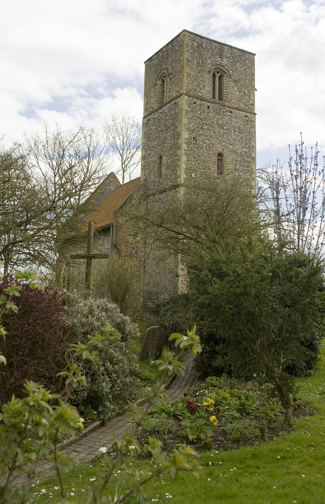 St Mary's Church, Houghton on the Hill, Norfolk