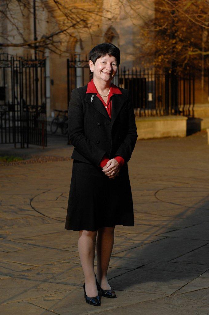 Alison Richard, chancellor of Cambridge University