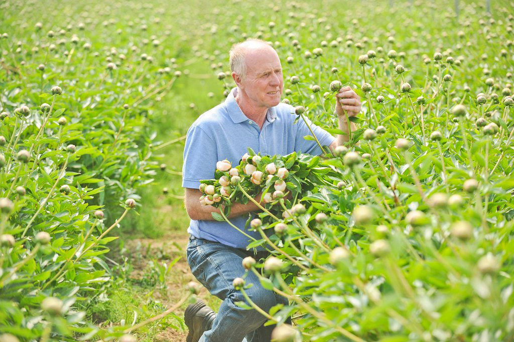 Roger and Laura Flint of Winchester Growers
