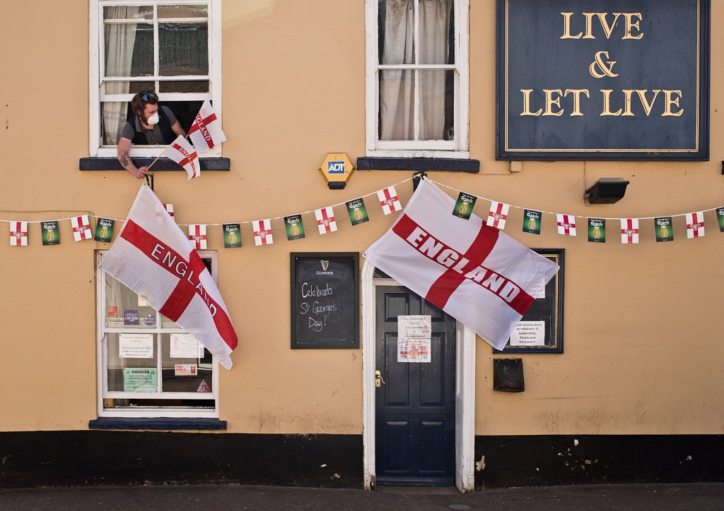 St George's Day 2020.