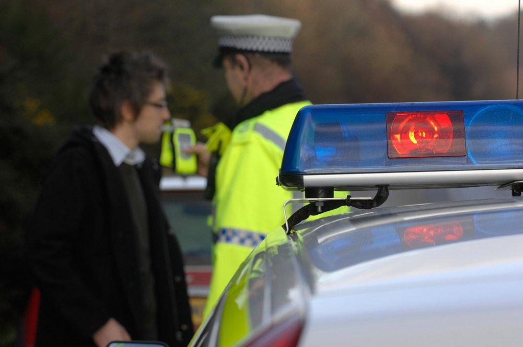 Police Roadside Breathalyser