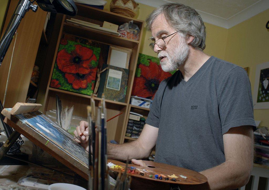Robert Thwaites, artist.