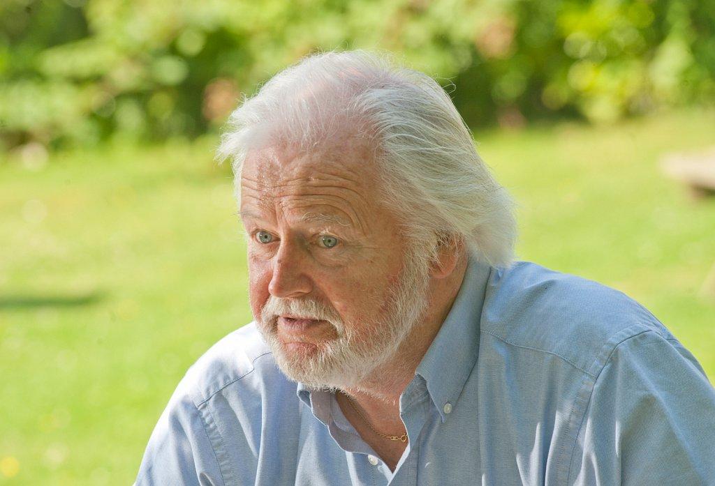 Actor Ian Lavender/