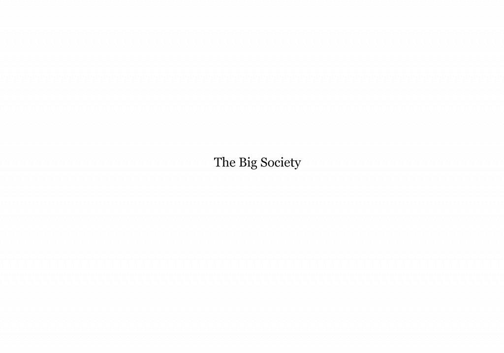 The Big Society