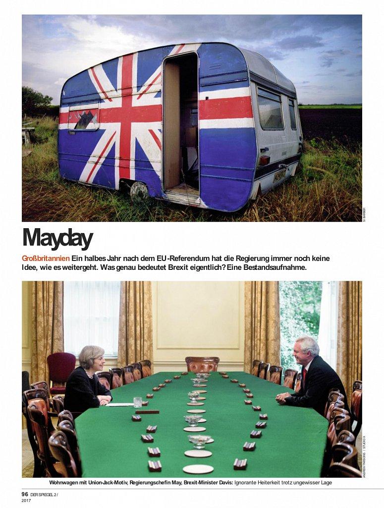 Der Spiegel - Britain & Brexit