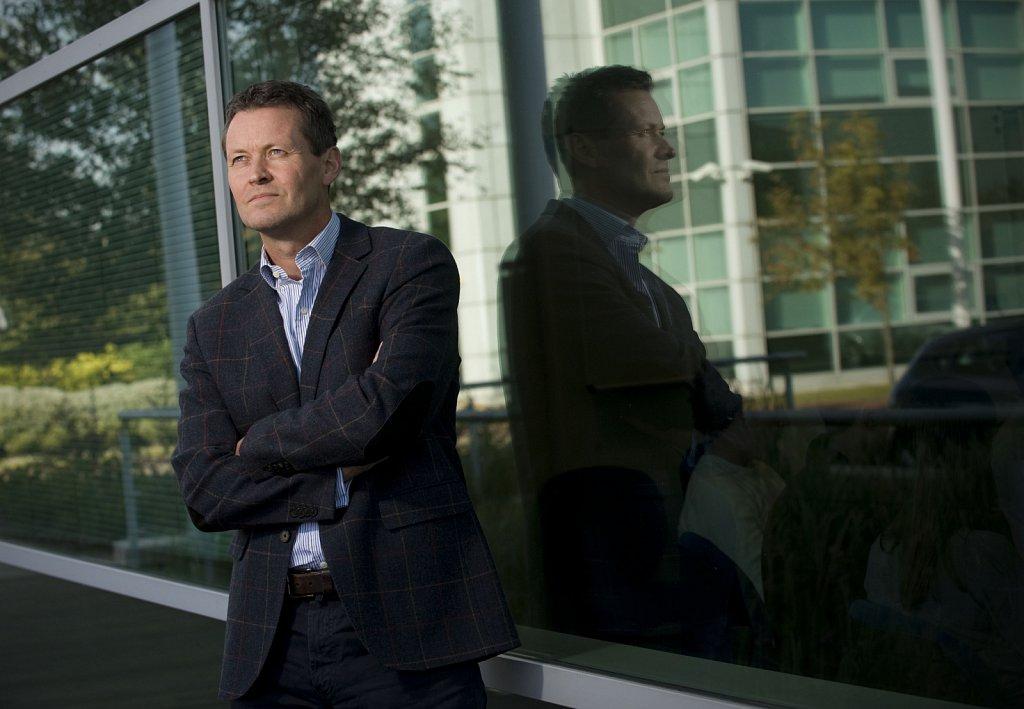 Joep van Buerden, CEO of Cambridge Silicon Radio.