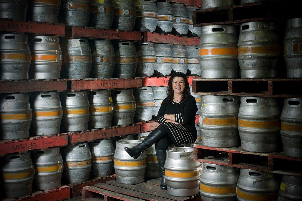 Karen Hester of Adnams Brewery