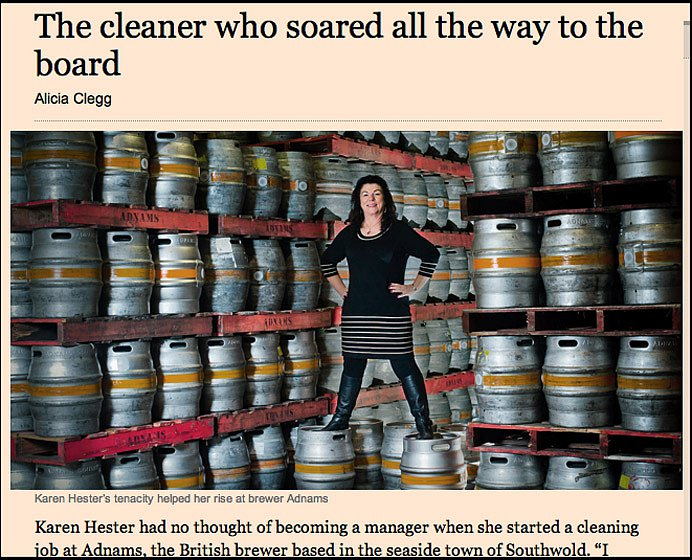 Director Karen Hester. For the Financial Times