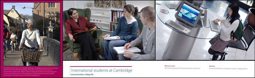 Cambridge University Prospectus