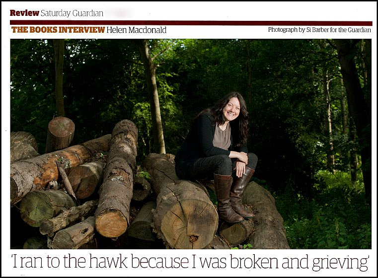 Helen MacDonald. For The Guardian.