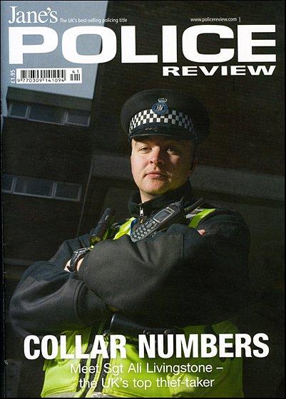 Sgt Ali Livingstone. For Police Review.
