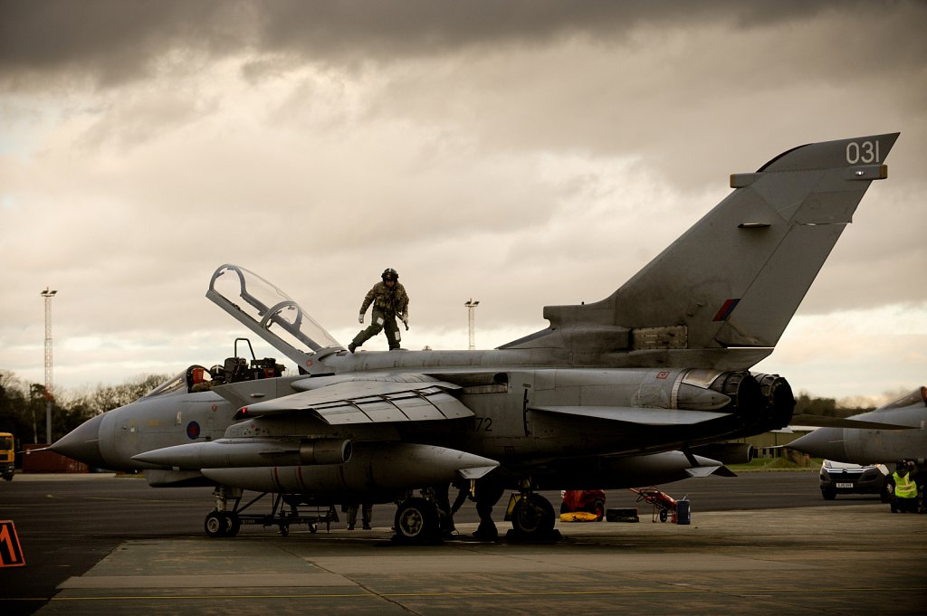 RAF Marham prepares for the arrival of LIghtning II F35