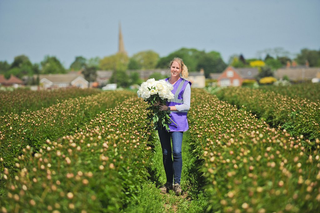 Laura Flint, Winchester Farms. For Waitrose Supermarkets.