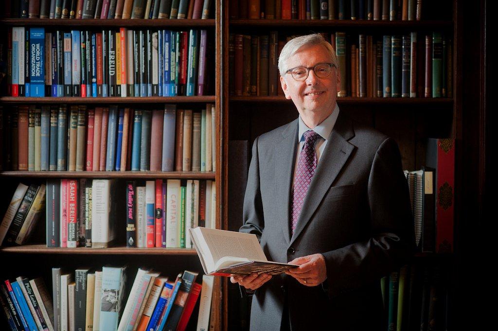 Stephen Toope, Vice Chancellor of Cambridge University, UK.